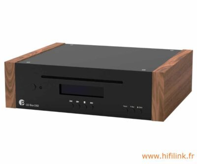 pro-ject cd box ds2 noyer noir