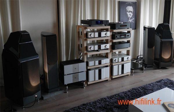 Karan KAS 600 / KAS 400 et Wilson Audio Sasha 2
