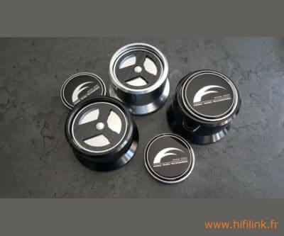 franc audio ceramic disc classic silver ou noir