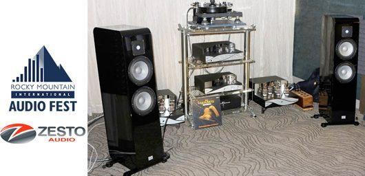 zesto audio obtient encore le best of show hifi link. Black Bedroom Furniture Sets. Home Design Ideas