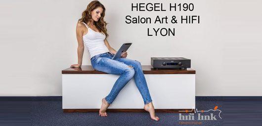 Nouveau hegel h190 au salon art hifi de lyon hifi link - Home cinema lyon ...