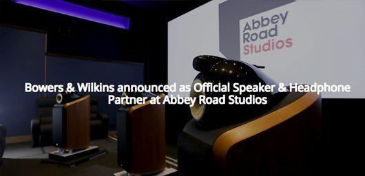 Abbey road studio partenaire avec bowers wilkins hifi for Abbey road salon