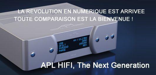APL Audio au classement des meilleures marques hifi haut de gamme