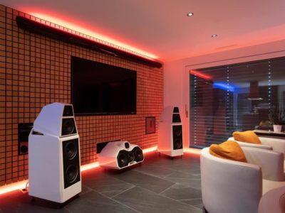 installation hifi haut de gamme Wilson Audio 5
