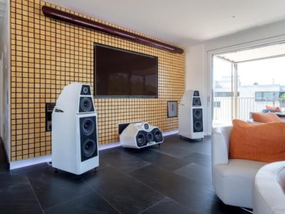 installation hifi haut de gamme Wilson Audio 7