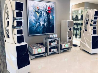 installation hifi haut de gamme Wilson Audio Wamm 4