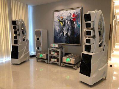 installation hifi haut de gamme Wilson Audio Wamm 5