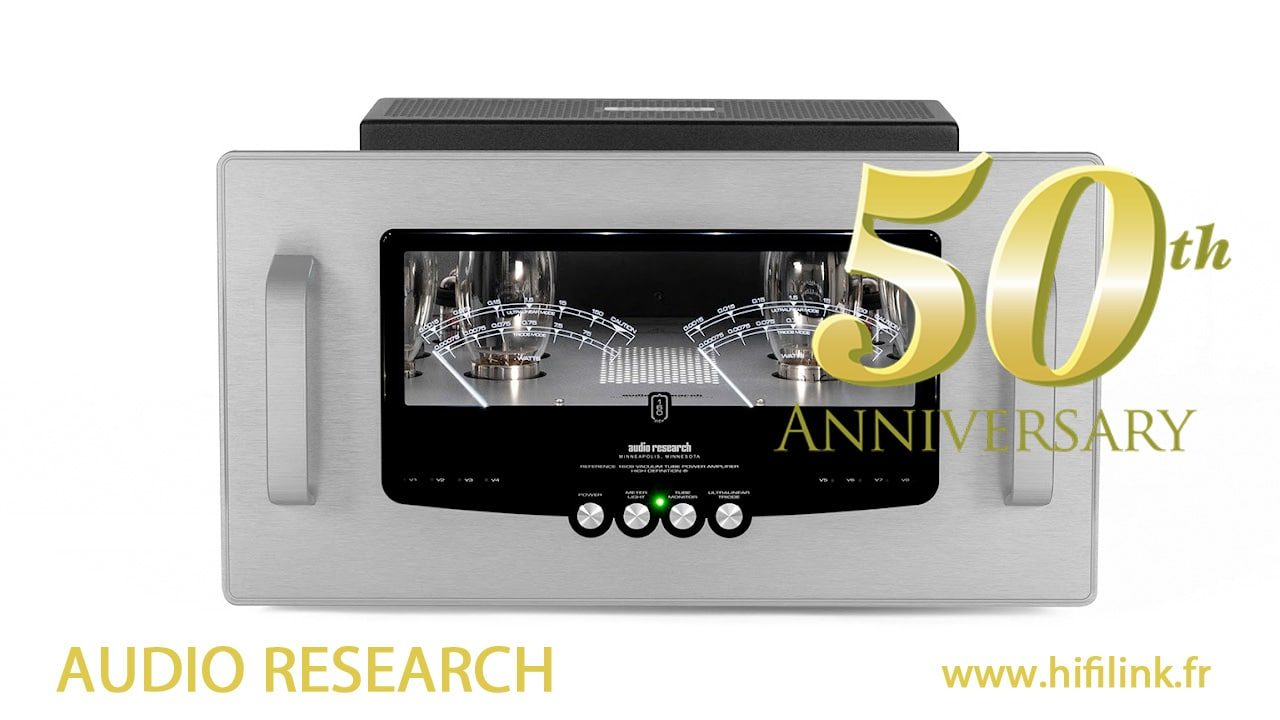 Audio Research 50 ans