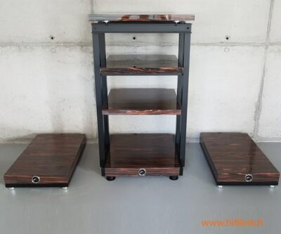 franc audio wood block rack simple largeur