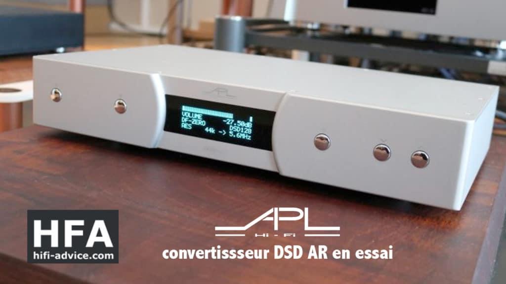 test DAC APL DSD AR