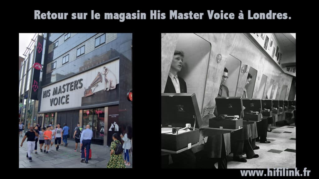 his master voice londres