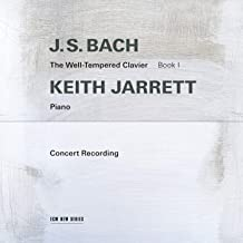 JS Bach The Well Tempered By Keith Jarrett