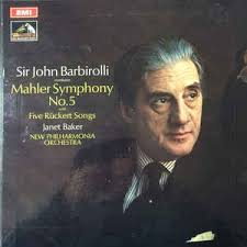Mahler Sir John Barbiroli