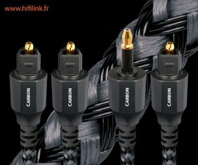 audioquest cables optique carbon