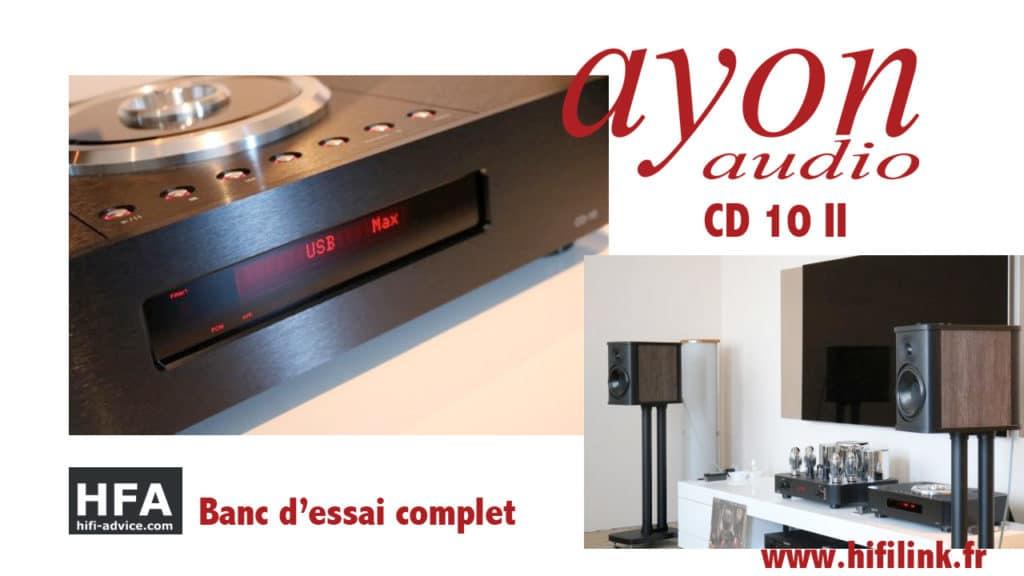 test lecteur CD DAC ayon CD10 2