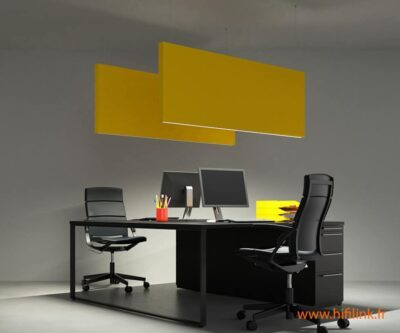 caruso acoustic flag luminaire
