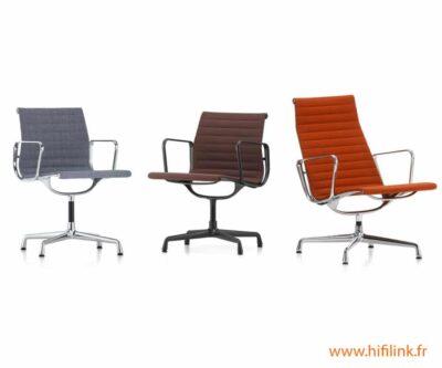 charles eames aluminium chairs