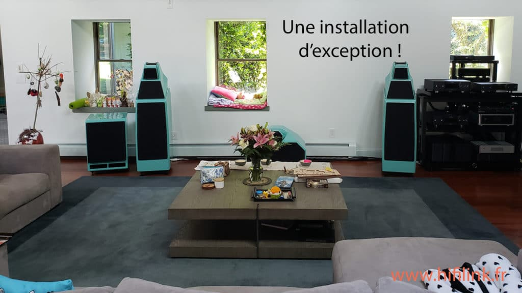 une installation hifi exceptionnelle wilson audio et apl