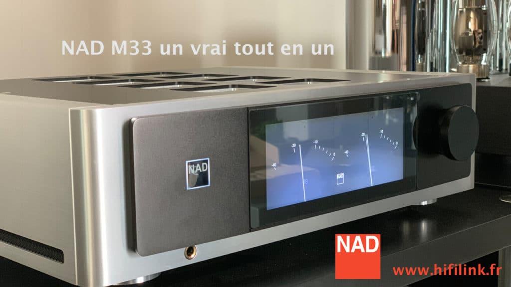 NAD M33 tout en un test hifi link