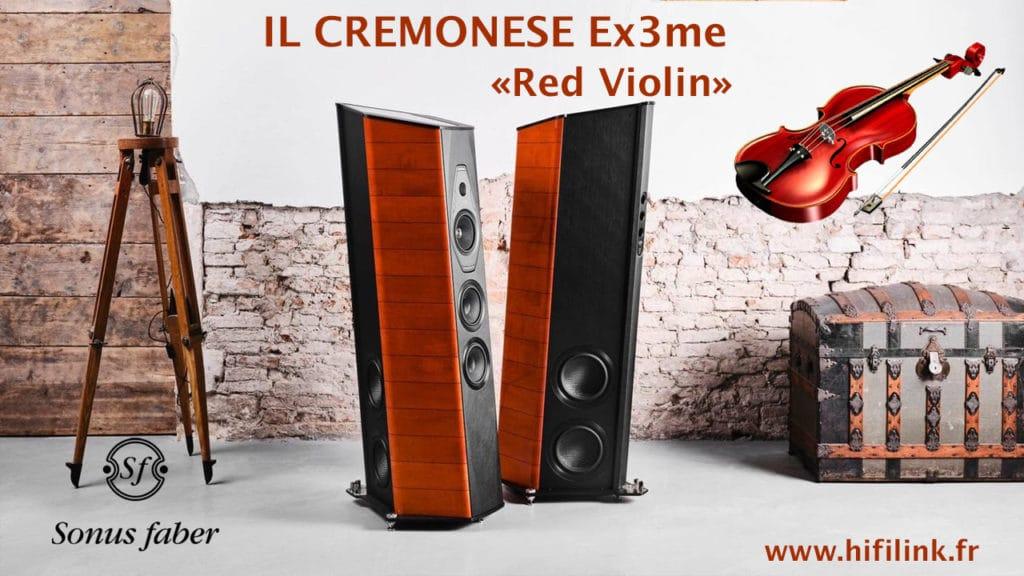 Sonus Faber il cremonese EX3ME red violin
