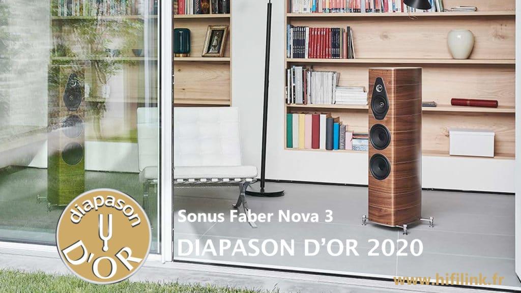 sonus faber Nova 3 diapason or 2020
