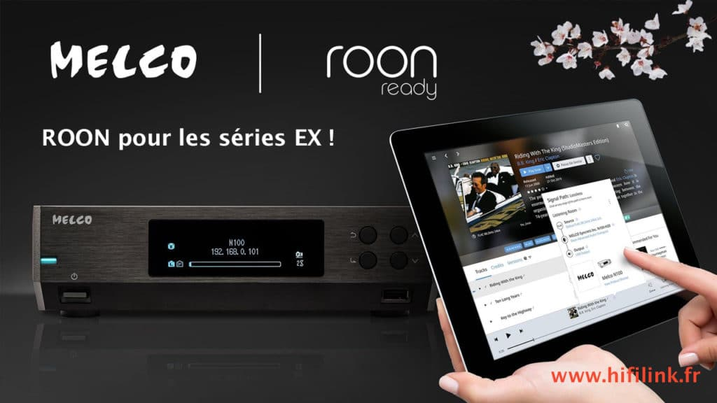 streamer Melco comptaible ROON