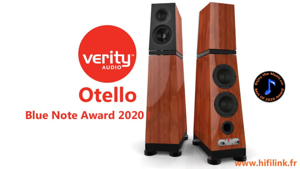 verity audio otello blue note award 2020