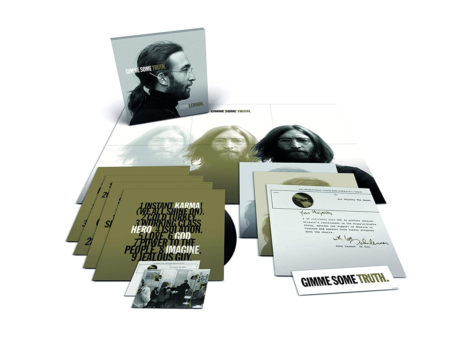 Gimme some truth 2020 version vinyle remasterisee