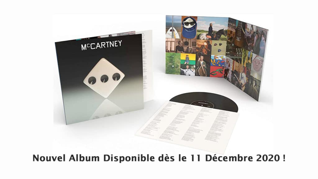 Paul McCartney III album disponible 11 decembre 2020