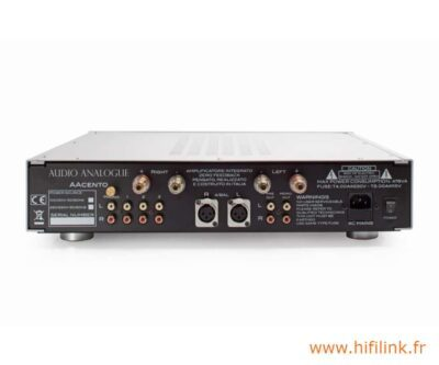 audio analogue aacento connectiques