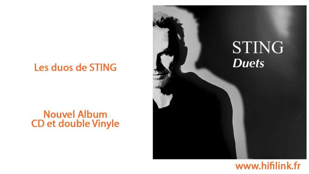 sting duets album cd et vinyle 2020