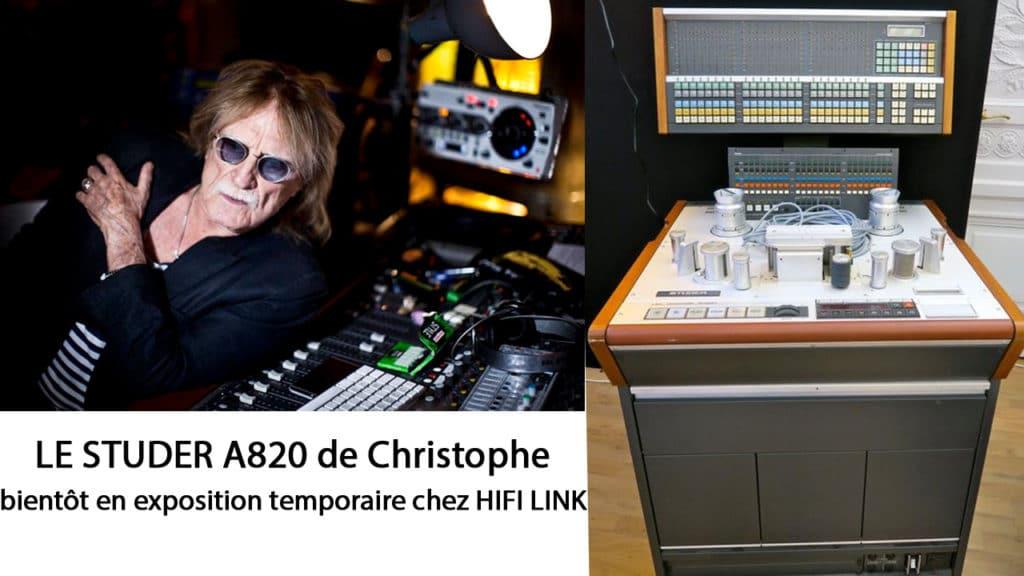 le studer A820 De christophe Drouot