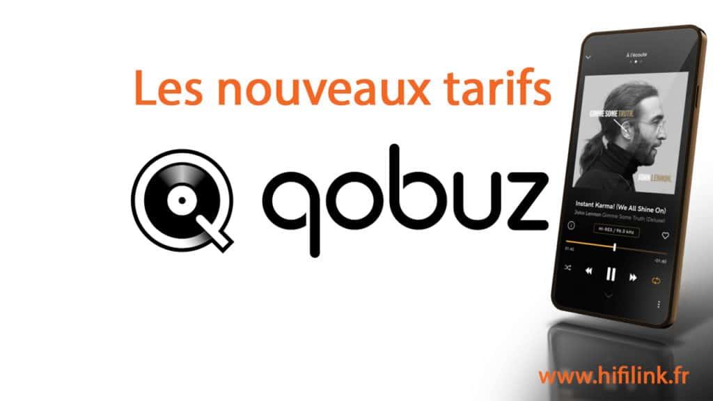nouveaux tarifs qobuz 2020