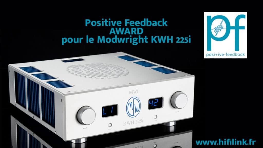 positive feedback modwright kwh 225i