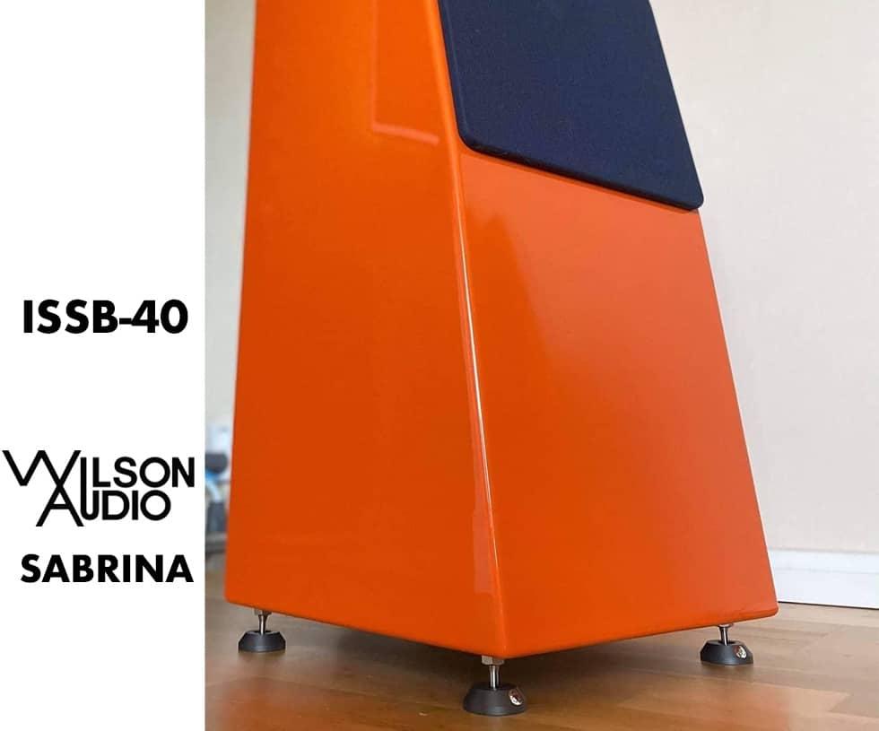 ISSB-40 decouplage wilson audio
