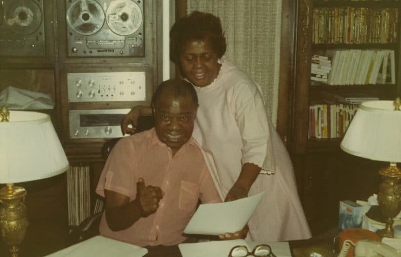 Louis-and-Lucille-Armstrong-at-home-in-Corona-Queens-New-York.-Accession-number-1978 Hifi