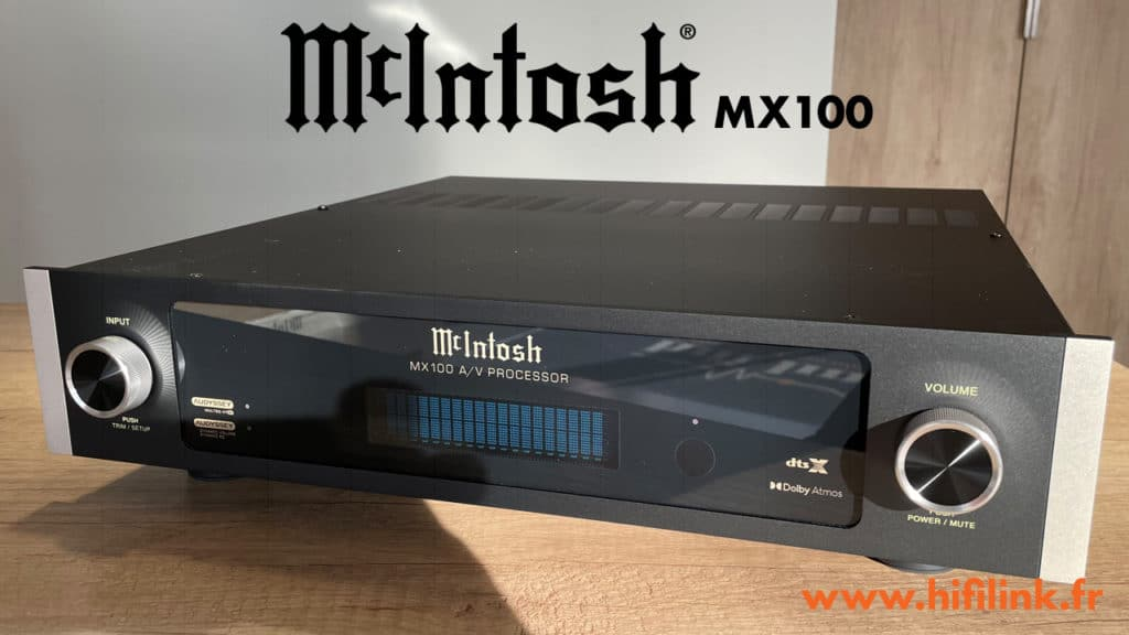 Mcintosh MX100 chez hifi link