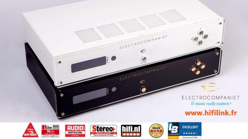 electrocompaniet ECI80D les awards