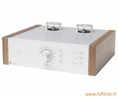 pro-ject tube box ds2 silver noyer