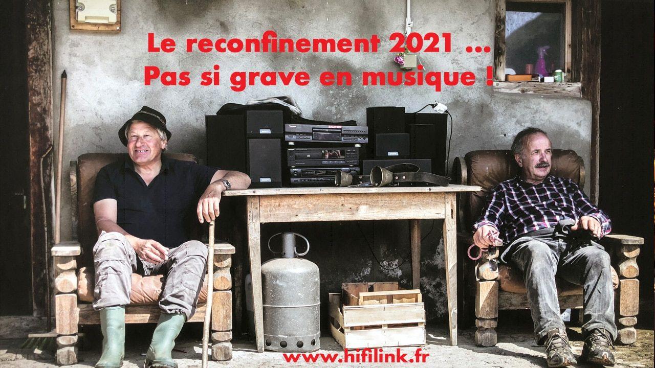reconfinement en musique janvier 2021