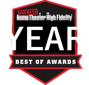 secrets of home theater and high fidelity award