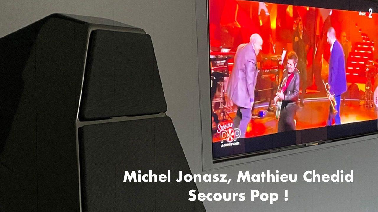 Michel Jonasz Matthieu Chedid Secours Pop France 2