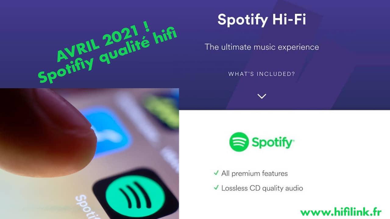 spotify en qualite CD 2021