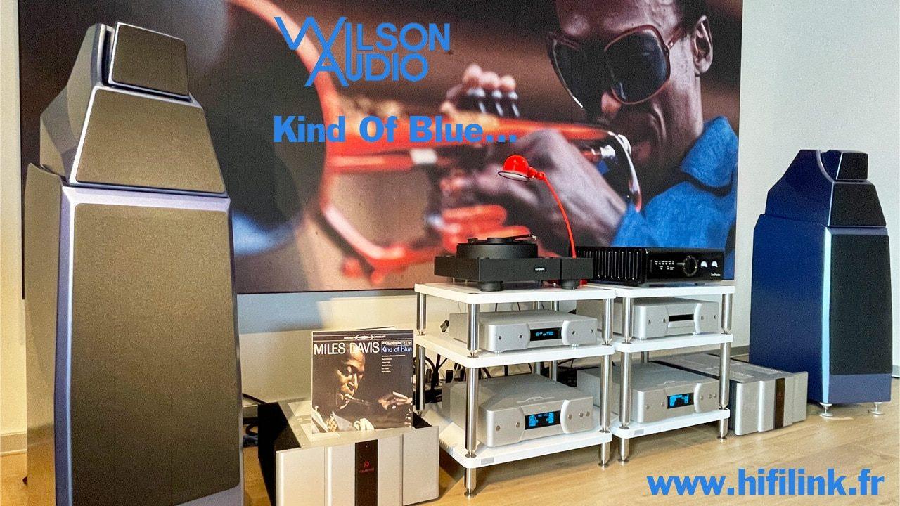 wilson audio alexia 2 kind of blue