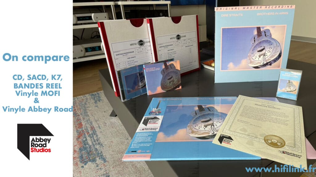 comparaison vinyle Dire Straits Brothers in arms