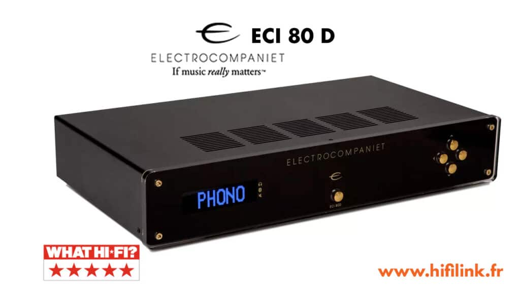 electrocompaniet eci80D test