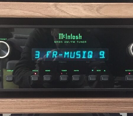 MCINTOSH MR85 AM/FM TUNER