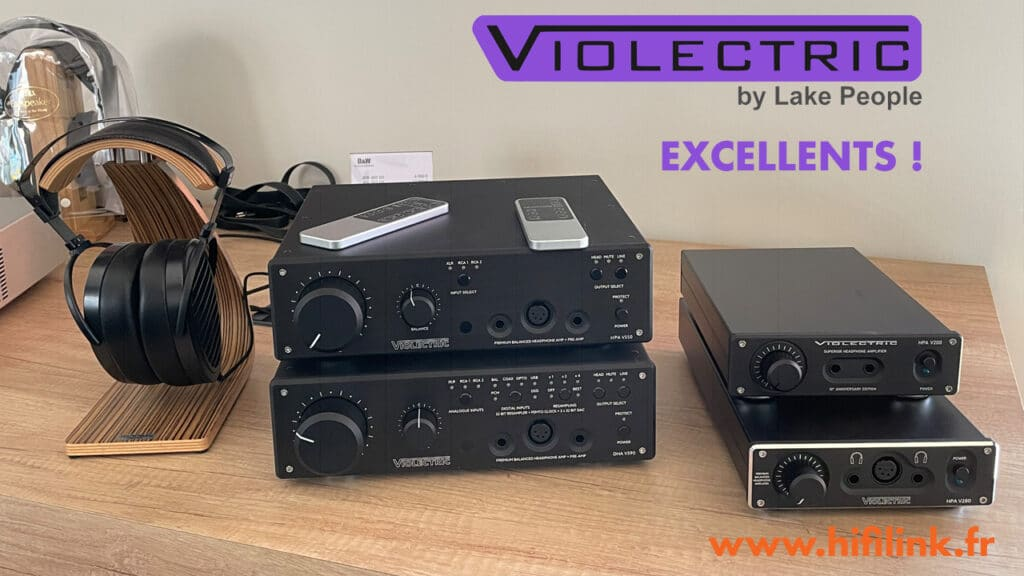 violectric excellent ampli casques
