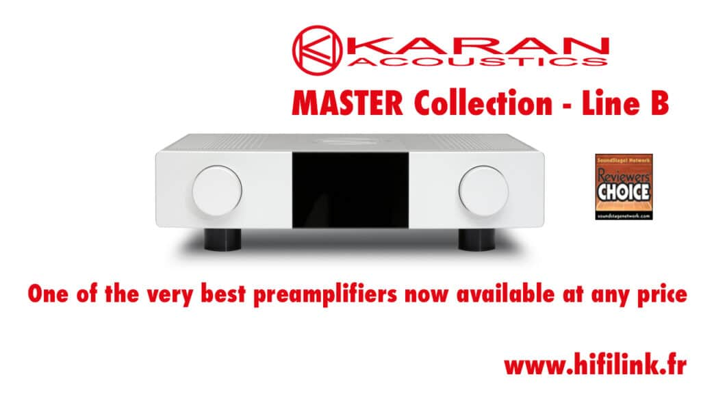 Banc essai karan master collection line b