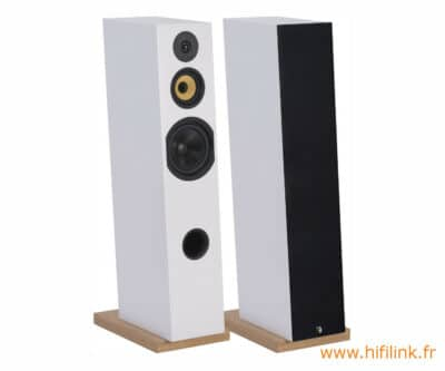 davis acoustics courbet n 8 blanc